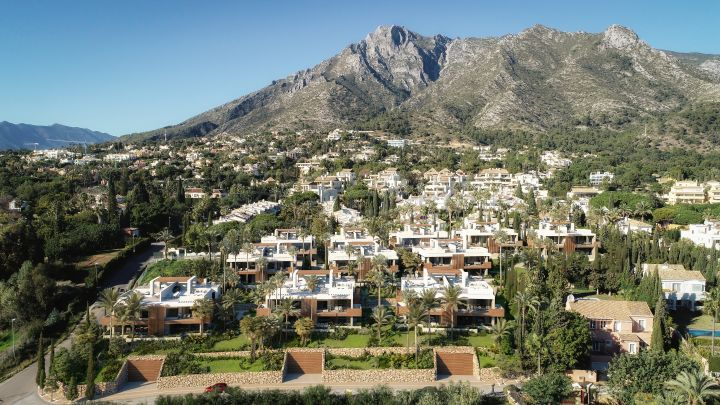 Off plan villa with views in Le Blanc, the prestigious area of Sierra Blanca, Marbella Golden Mile