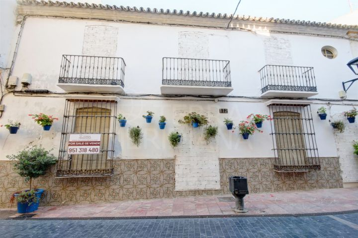 Plot for sale in Estepona old town less than a minute from the beach