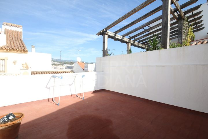 2 bedroom house for sale with huge potential in the centre of the old town Estepona