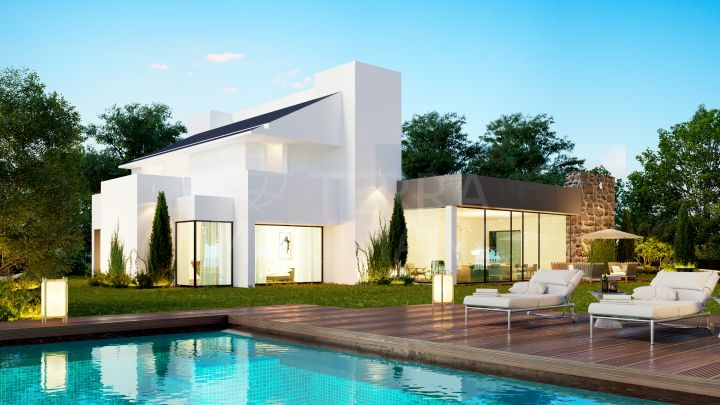 Off-plan 5 bedroom luxury villa for sale in the privileged development of King´s Hills in El Paraiso, Estepona