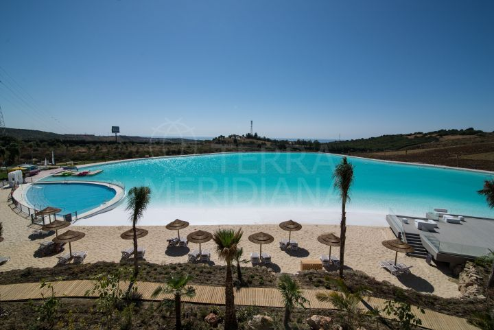 New penthouse apartment centred around a watersports lagoon for sale in Alcazaba Lagoon, Casares