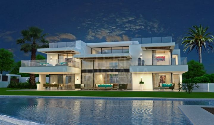 Off plan contemporary villa for sale in the coveted seafront neighbourhood of Guadalmina Baja, San Pedro de Alcantara