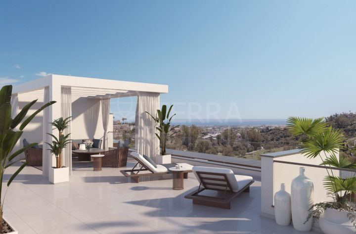 Off-plan ground floor apartment with country views for sale in Alborada Homes, Benahavis