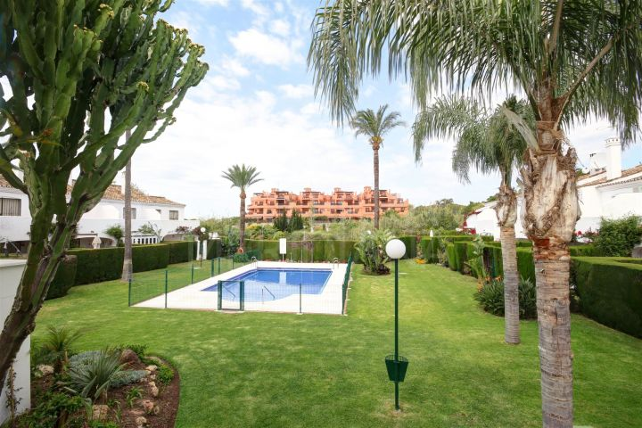 Large townhouse for sale, in the beachside complex of Arroyo de la Plata in Estepona