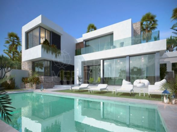 Magnificent brand new luxury beachside villa for sale in San Pedro Playa, San Pedro de Alcantara