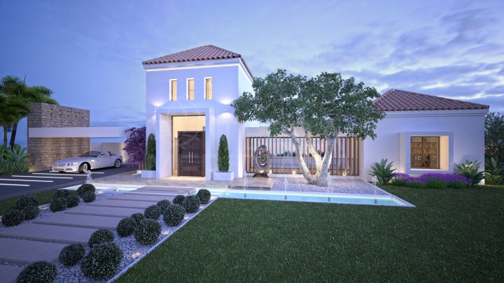Villa contemporánea de lujo en venta en The Heights, La Resina Golf, Estepona