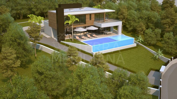 Outstanding plot in an unbeatable location for sale in La Alqueria, Benahavis