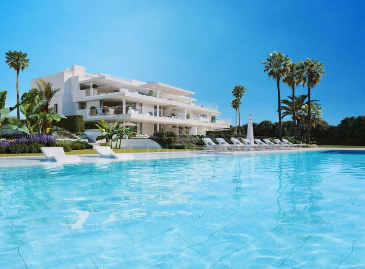 Brand new beachfront first-floor apartment for sale in EMARE, New Golden Mile, Estepona