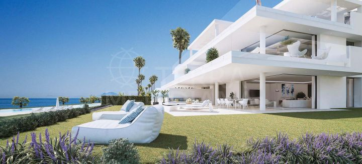 Brand new luxury beachfront apartment for sale in EMARE, New Golden Mile, Estepona