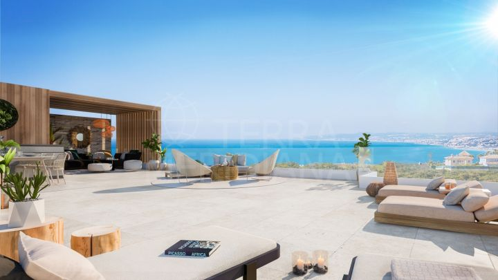 Off-plan contemporary penthouse for sale in Alexia Life, Estepona town