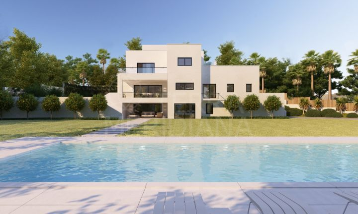 Beachside double plot with plans of multiple options for sale in Sotogrande Costa Central