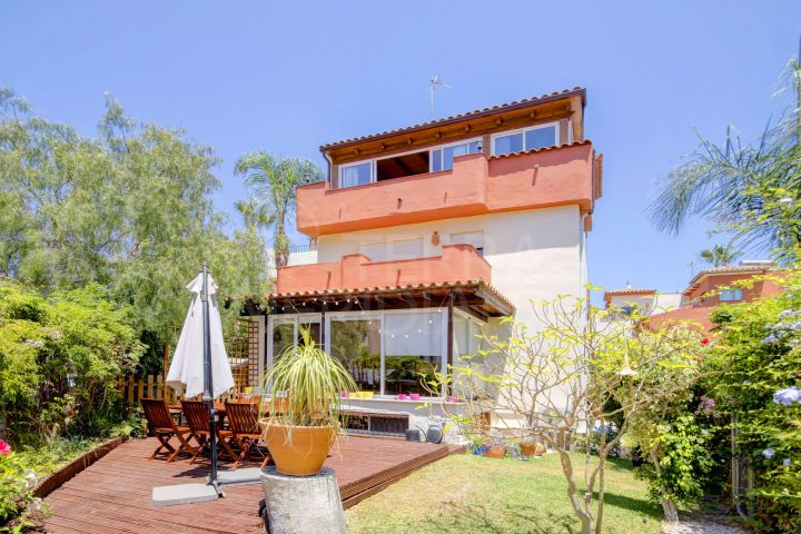 Beachside 3 Bedroom Townhouse for sale in the New Golden Mile, Estepona