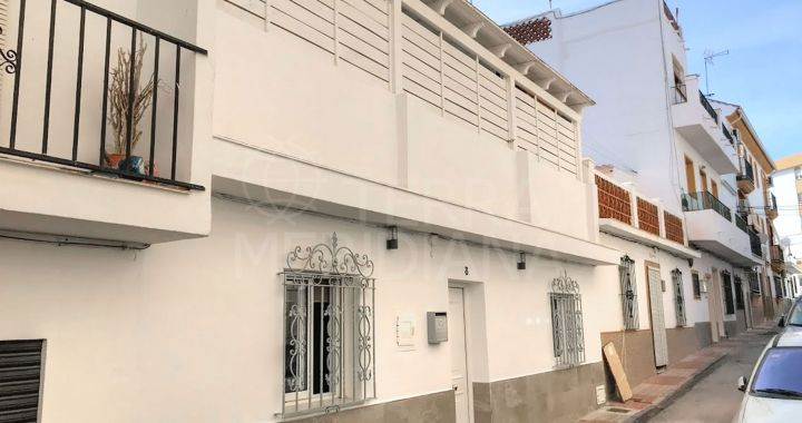 Reformed three bedroom townhouse for sale in San Pedro Alcántara Old Town