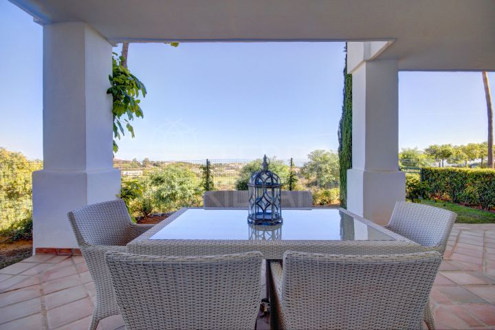 3 Bedroom Luxury Ground Floor apartment for sale in Finca Cortesin