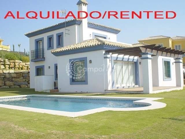 Villa for rent in Alcaidesa - Alcaidesa Villa