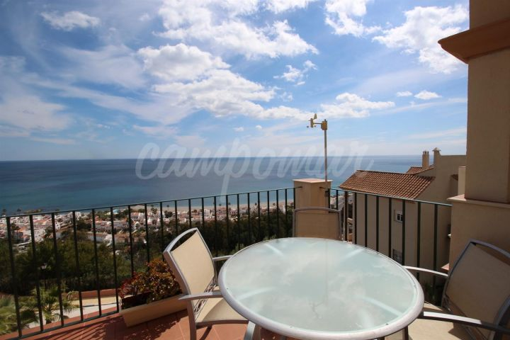 Manilva, Spectacular sea views. Pethouse in La Paloma de Manilva.