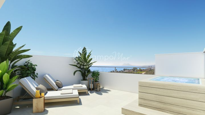 Manilva, Last remaining units! Modern homes with sea views for sale
