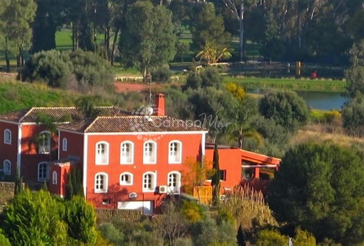 Estepona, FRONT LINE GOLF, TUSCAN STYLE VILLA