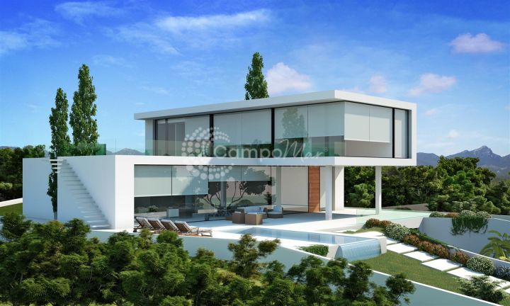 Nueva Andalucia, BRAND NEW VILLA INSIDE GOLF RESORT
