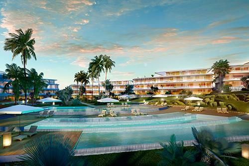 Estepona, Unique beach front project in Estepona