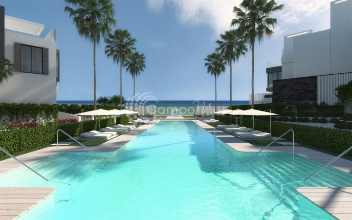 Estepona, Exclusive beach front developtment in Estepona