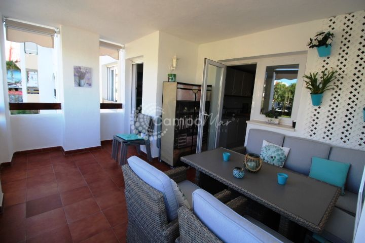Estepona, Three bedroom apartment available for rent in the port area of Estepona