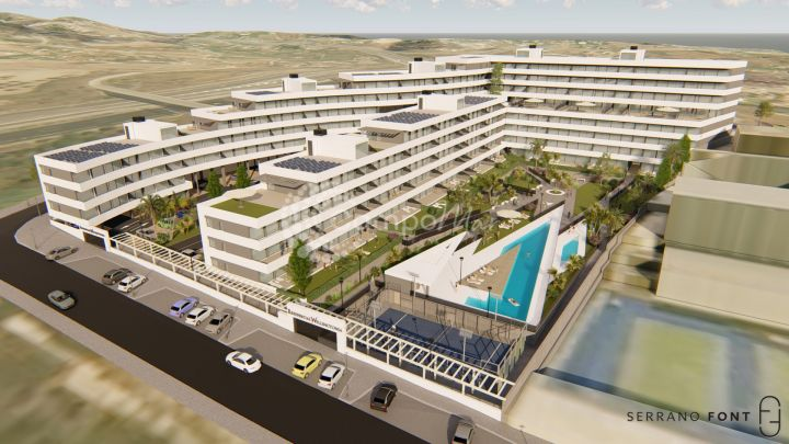 Estepona, New promotion of apartments for sale in Estepona