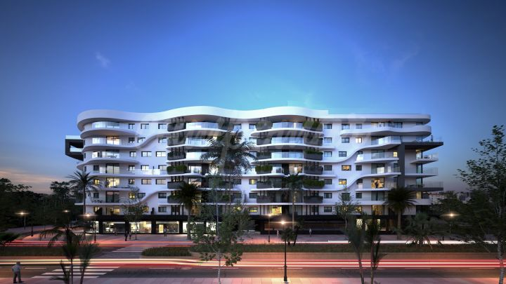 Estepona, Three bedroom unit available in Estepona´s latest new development in the heart of town.