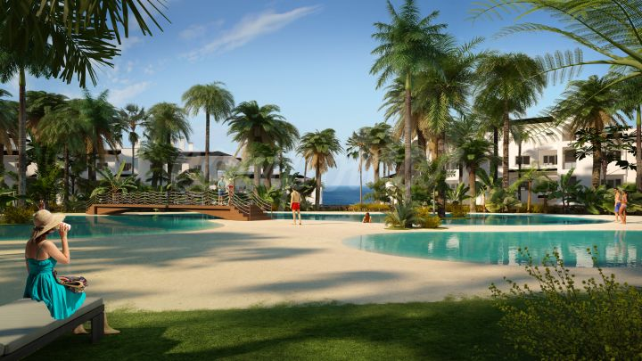 Estepona, Apartment for sale in the popular new development of Mirador de Estepona