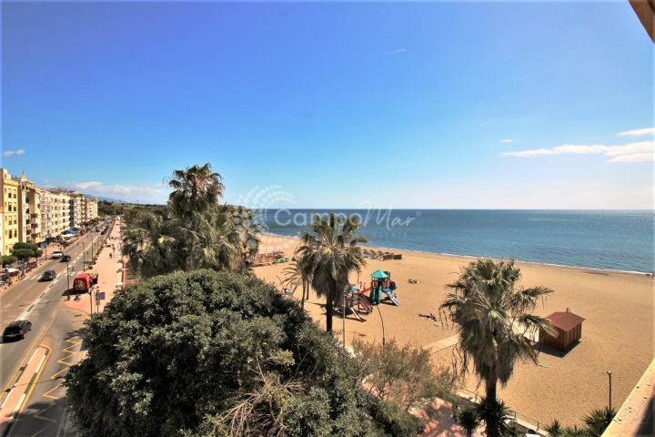 Estepona, Front line beach apartment for sale in the heart of Estepona