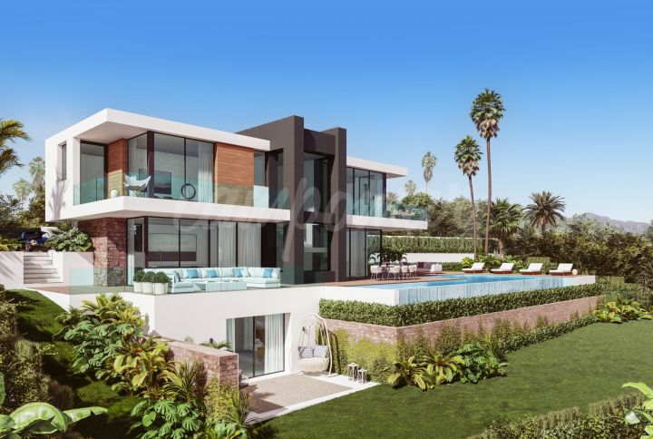 Manilva, Turn key project – unique contemporary 4 Bed Villa for sale
