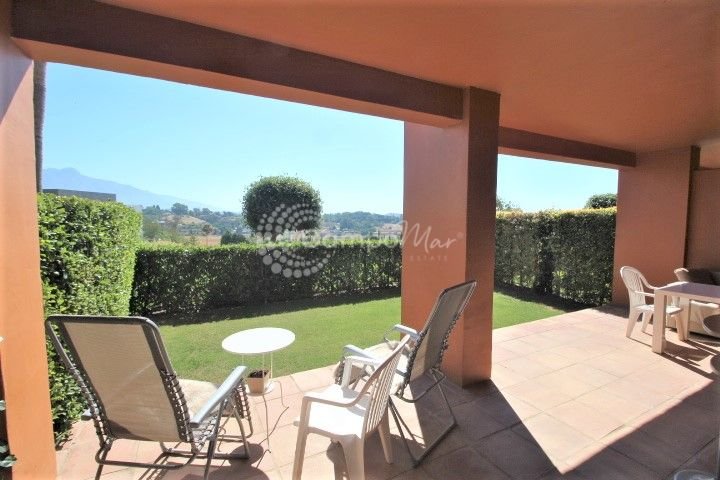 Benahavis, Stunning ground floor apartment for sale in the luxury Benatalaya complex