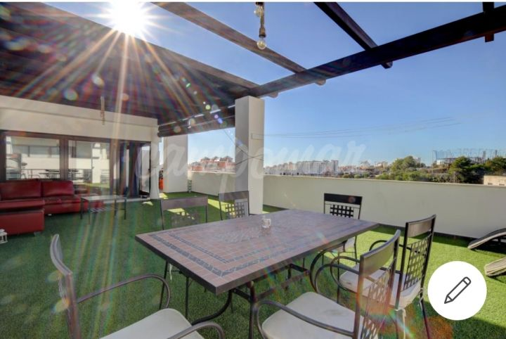 Estepona, Penthouse for sale only a two minute walk from Estepona port.