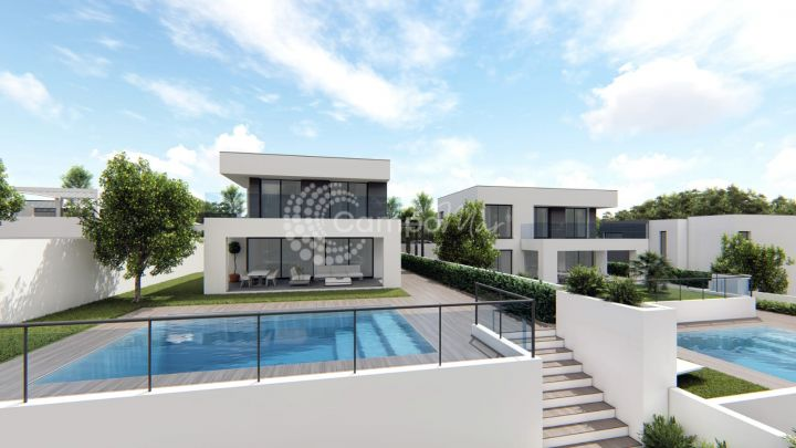 Manilva, New project of Villas in Manilva with construction started