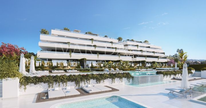 New contemporary apartments and penthouses for sale in Estepona, Malaga.