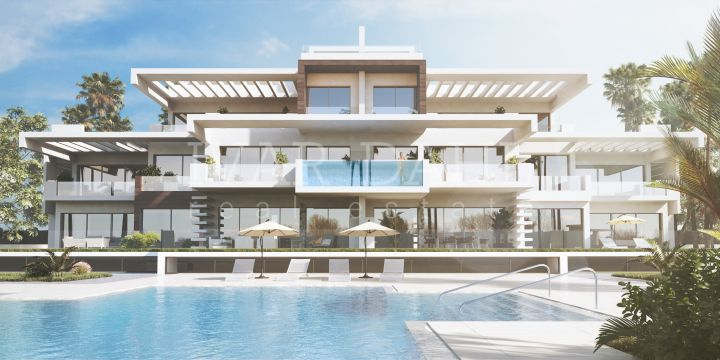 New luxury apartment complex on Marbella's Golden Mile