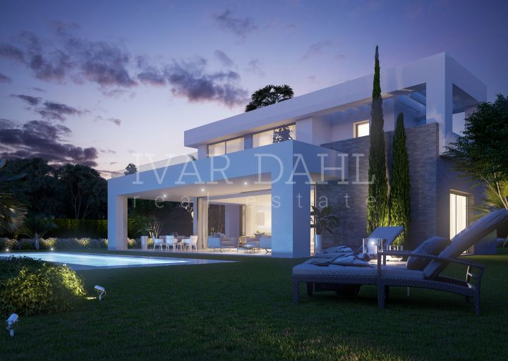 New modern villas in La Cala, Mijas-Costa.