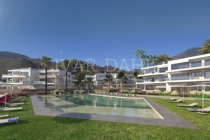 Benahavís 75 two and three bedroom apartments in a natural setting close to the centre of Benahavís