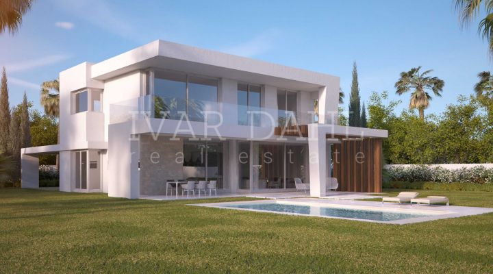 New Promocion of modern style Villas in Marbella East