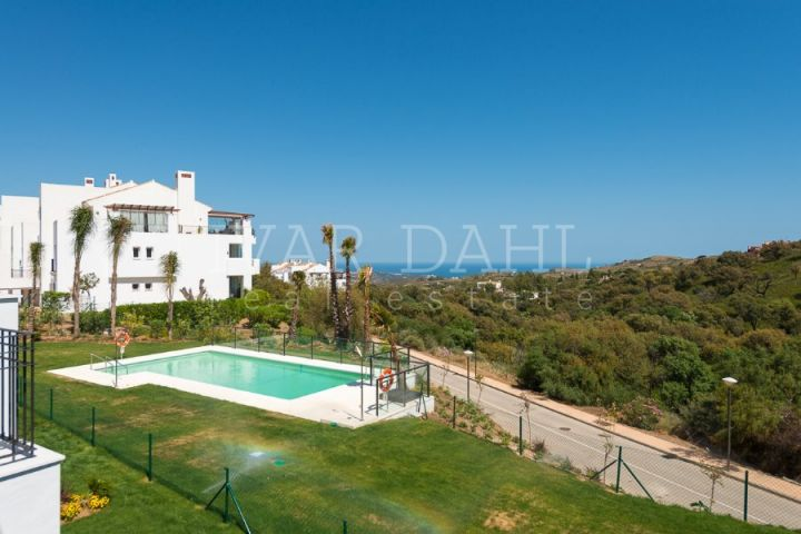 A new residential development set near the village of Elviria and its beach, very close to Marbella,