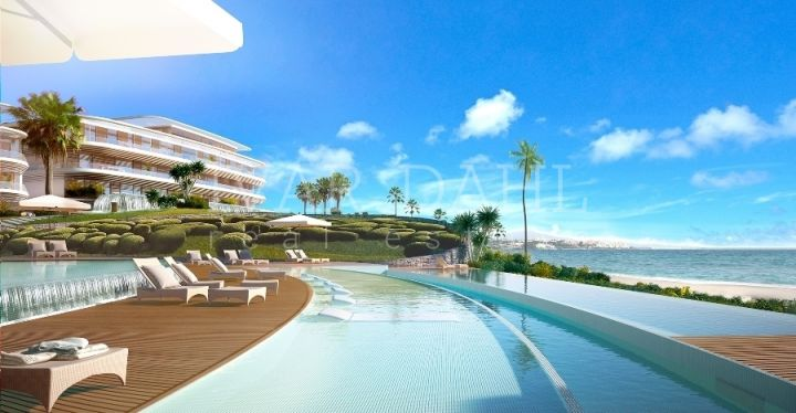 New Front Line Beach Apartments in Estepona