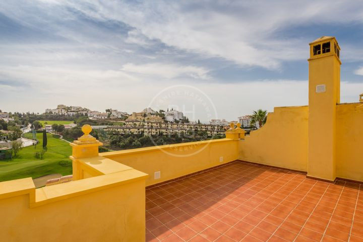 Front line golf townhouse in Riviera del Sol, Mijas Costa