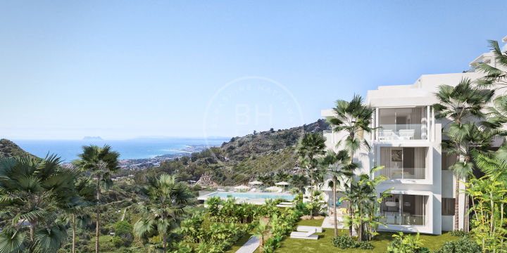 Contemporary off-plan ground-floor apartment located minutes away to Marbella Centre