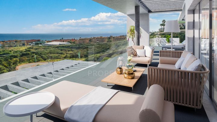Modern off-plan ground-floor apartment in a complex with exclusive facilities for its residents
