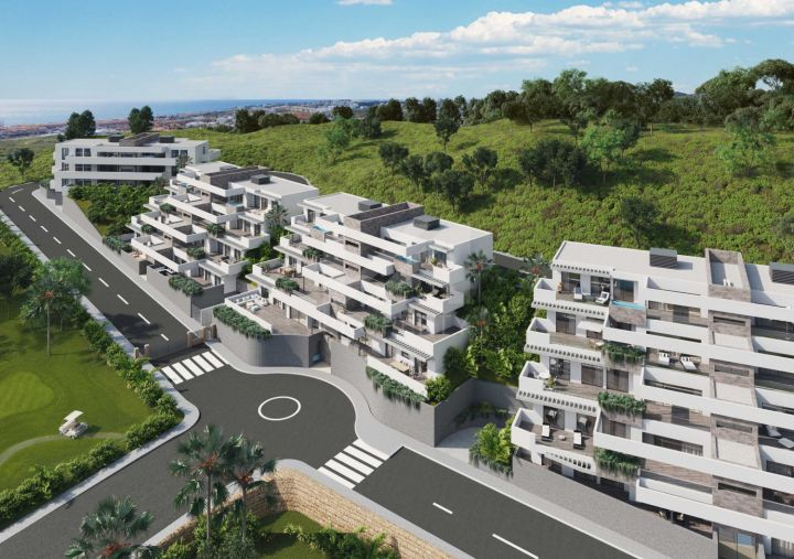 Ground Floor Apartments for sale in Mijas Costa