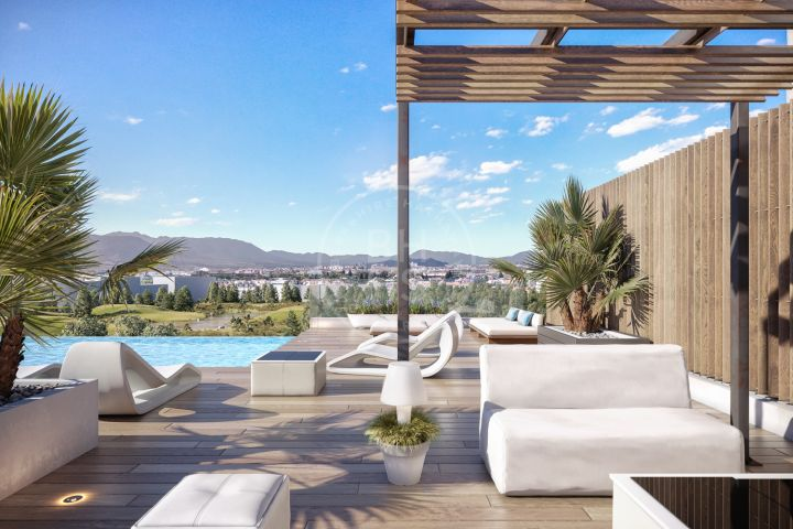 Modern apartment with luxury facilities next to the beach and the Málaga centre