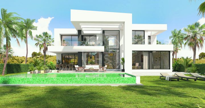 Modern off-plan villa in a boutique development in a prime location in east Málaga