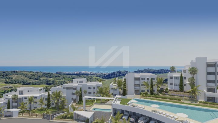 Stunning brand-new garden apartment in a development of 54 modern, exclusive units in Estepona Golf