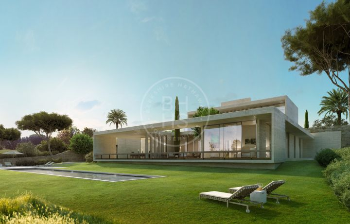 Majestic villa under construction situated in a unique and privileged location