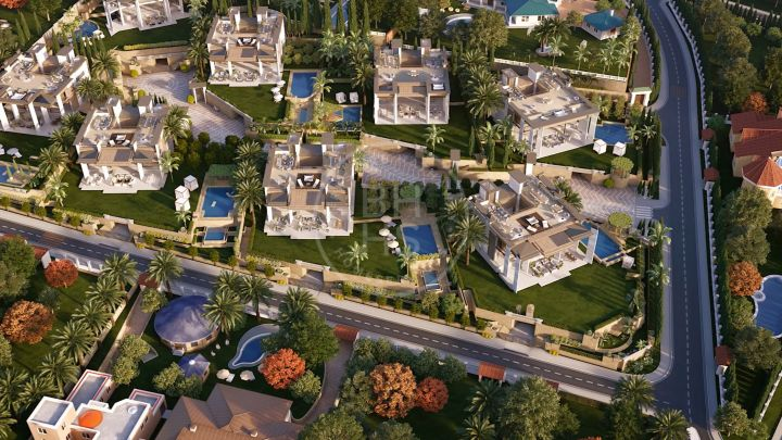 High-end brand-new villa in a prestigious gated community walking distance to Puerto Banús